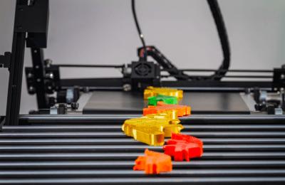 3D-gedruckte Teile aus dem iFactory One
