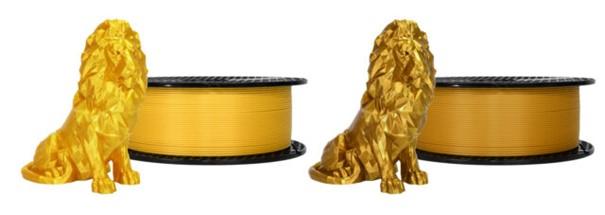 """Neue 3D-Druck-Filamente """"Oh my Gold"""" und """"Viva la Bronze"""""""