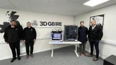 BCN3D und 3DGBIRE Mitarbeiter