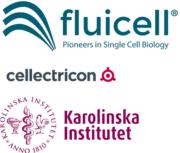 Fluicell, Cellectricon und Karolinska Institut Logos