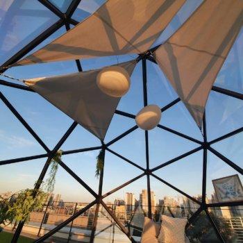3D-gedrucktes Architekturprojekt Blobee Teilansicht