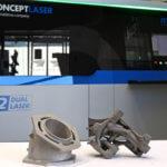 3D-Druckobjekte und GE Additive Concept Laser M2