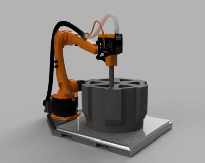 3D-Druckzelle von Massive Dimension