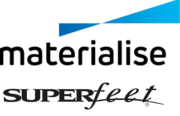 Materialise und Superfeet Logos