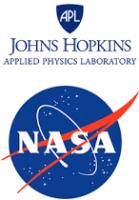 Johns Hopkins Applied Physics Laboratory und NASA Logo
