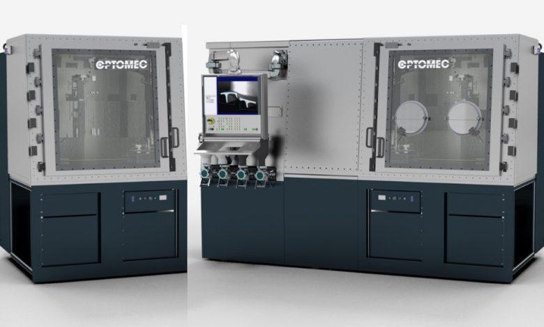 3D-Drucksystem HC-TBR von Optomec