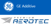 Premium AEROTEC und GE Additive Logos