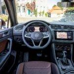 Fahrzeuginnenraum VW Tiguan-R