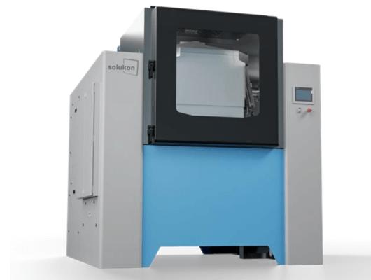 automatisiertes Entpulverungssystem Solukon SFP770