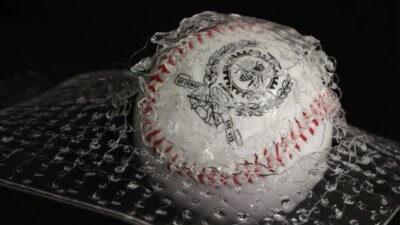 Baseball und das Material