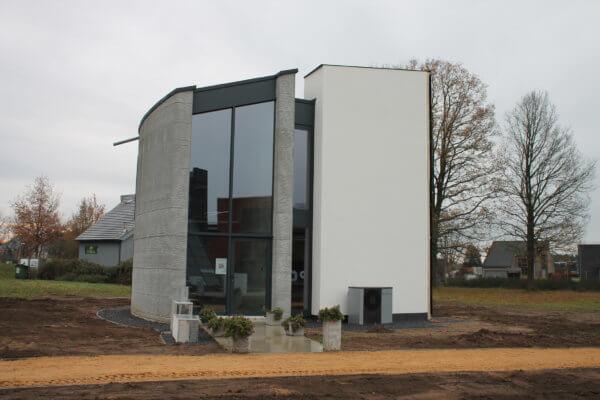 3D-gedrucktes Haus Aussenansicht Westerlo