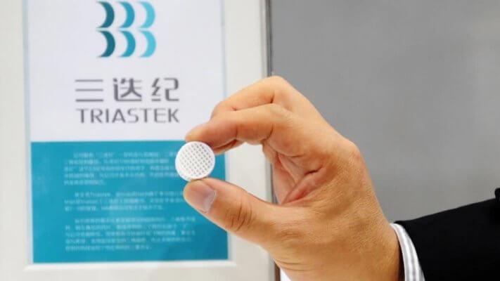 3D-gedruckte Tablette von Triastek