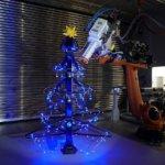 3D-gedruckter Weihnachtsbaum