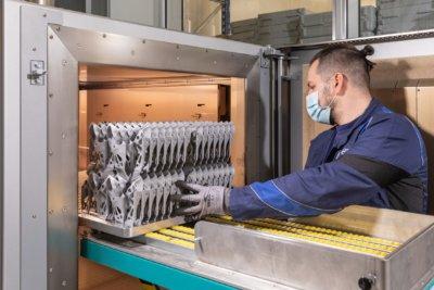 3D-gedruckte Bauteile bei BMW aus Maschine
