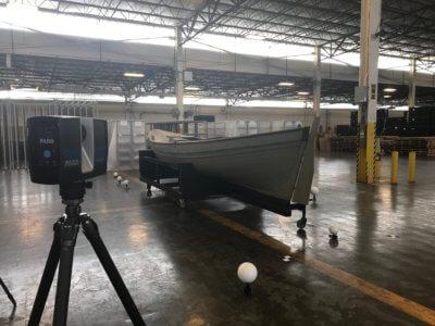 Scanner und Boot