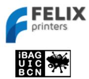 Logos iBAG-UIC und FELIXprinters