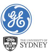 GE und University of Sydney Logo