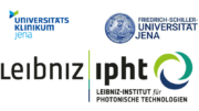 Logo Leibniz IPHT, Uniklinikum Jena und Universität Jena