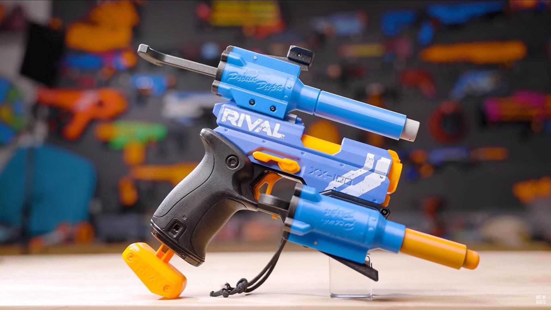 Kleine Nerf-Pistole