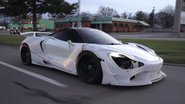 McLaren 720S Seitenansicht
