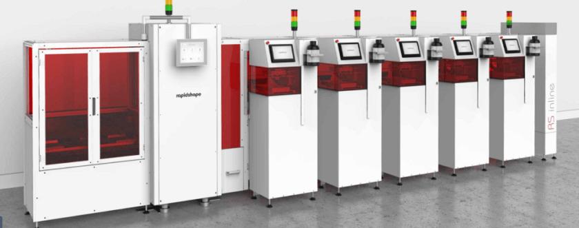 3D-Druck-Produktionslinie von Rapid Shape