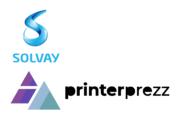 Logos Solvay und PrinterPrezz
