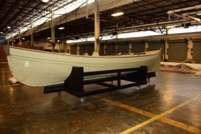 Beiboot der USS Saginaw