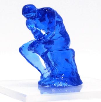 """3D-gedruckte Figur """"Denker"""""""