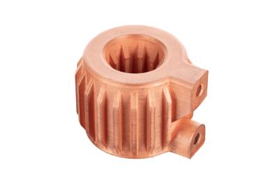 3D-gedruckter Wärmetauscher aus Kupfer
