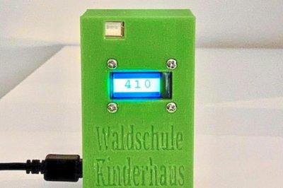 Waldschule Kinderhaus CO2-Ampel