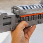 3D-gedrucktes Teil eines Motors