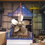 3D-gedruckter Propeller der Naval Group