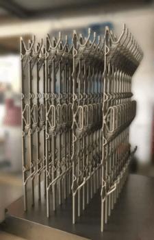 3D-gedruckte Titan-Kühlstäbe