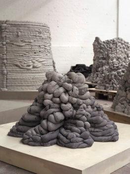 3D-gedrucktes Objekt aus Zement