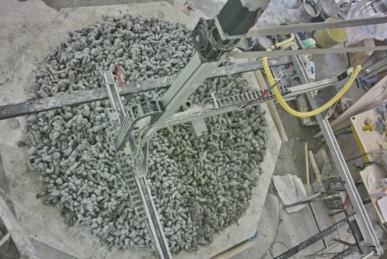 3D-Drucker für Zement von Factum Arte
