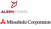 Aleph Farms und Mitsubishi Corporation Logos