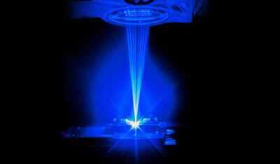 Blaue Lasertechnologie von NUBURU