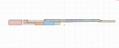3D_Modell in 13 Teile zerlegt
