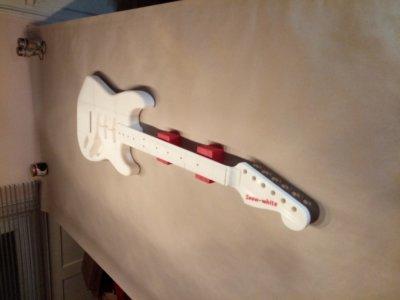 E-Gitarre aus 3D-Drucker