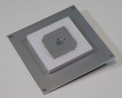 3D-gedruckter Prototyp der GNSS L1/E1-Antenne