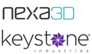 Keystone und Nexa3D Logo