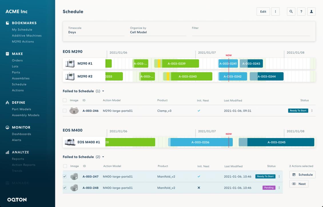 Screenshot Plattform