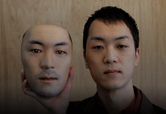 Okawara und Maske