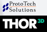 ProtoTech Solutions und Thor3D Logo