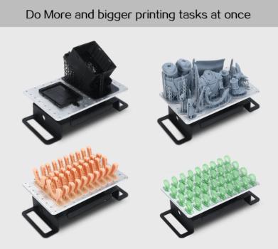 Mehrere Objekte aus dem QIDI TECHNOLOGY 3D-Drucker S-box