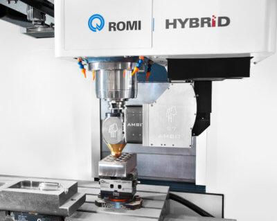 Nahaufnahme AMBIT FLEX-Verarbeitungsköpfe von Hybrid Manufacturing Technologies