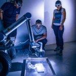 Test mit Laserkopf auf MIRA3D