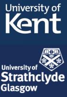 Kent und Strathclyde University Logos