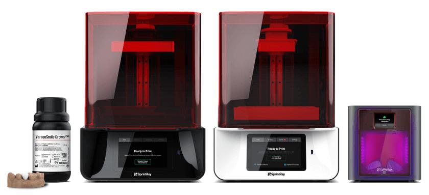 SprintRay 3D-Drucker und Bego 3D-Druck-Materialien
