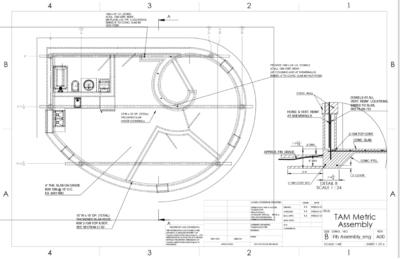 Bauplan 3D-Druck-Haus